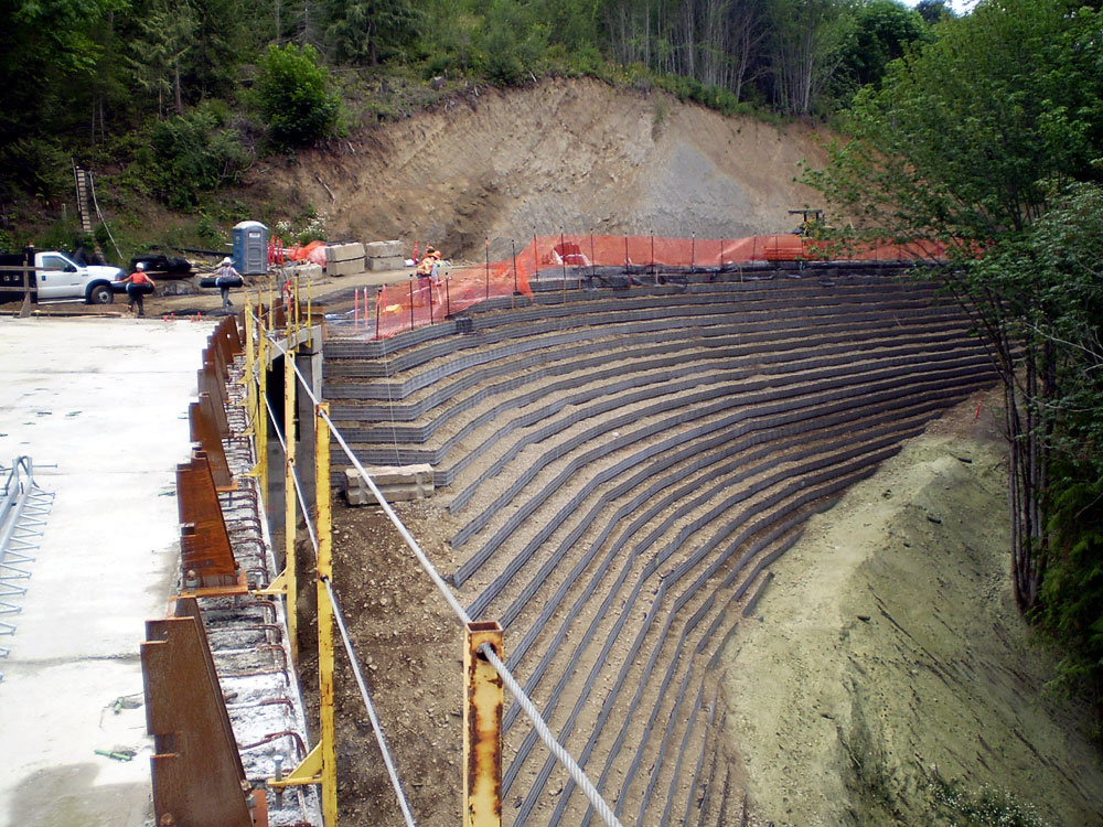 Stabilized Earth Walls Construction : Reinforced earth walls philadelphia post tensioning